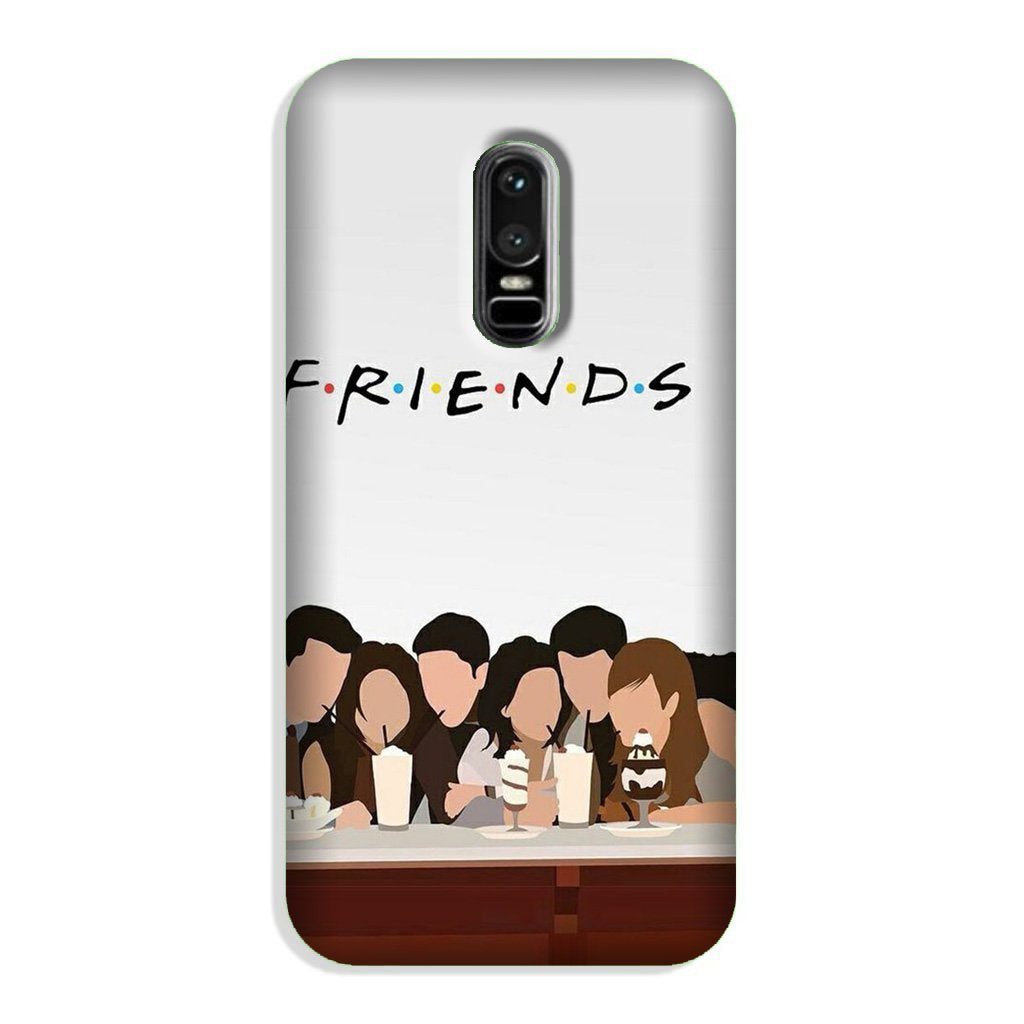 Friends Case for OnePlus 6 (Design - 200)