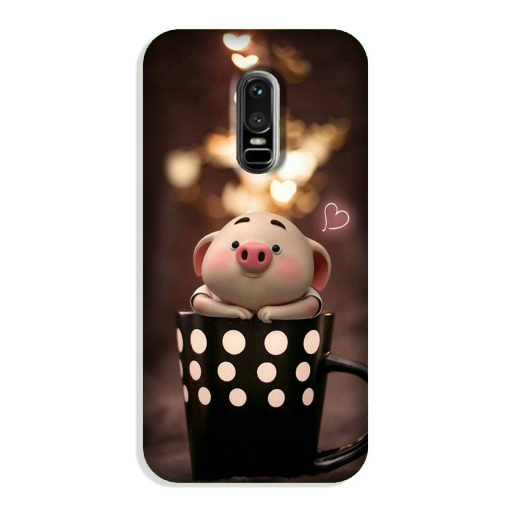 Cute Bunny Case for OnePlus 6 (Design No. 213)