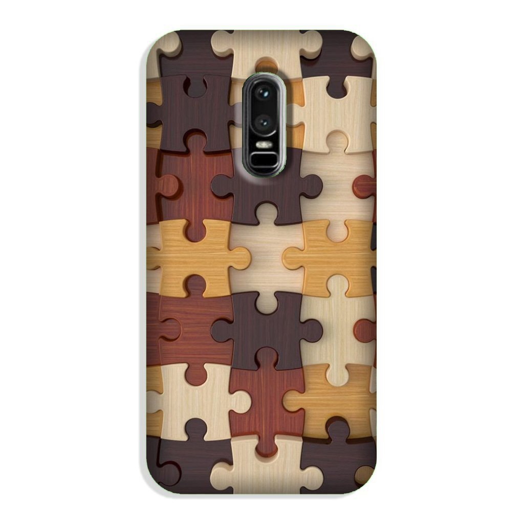 Puzzle Pattern Case for OnePlus 6 (Design No. 217)