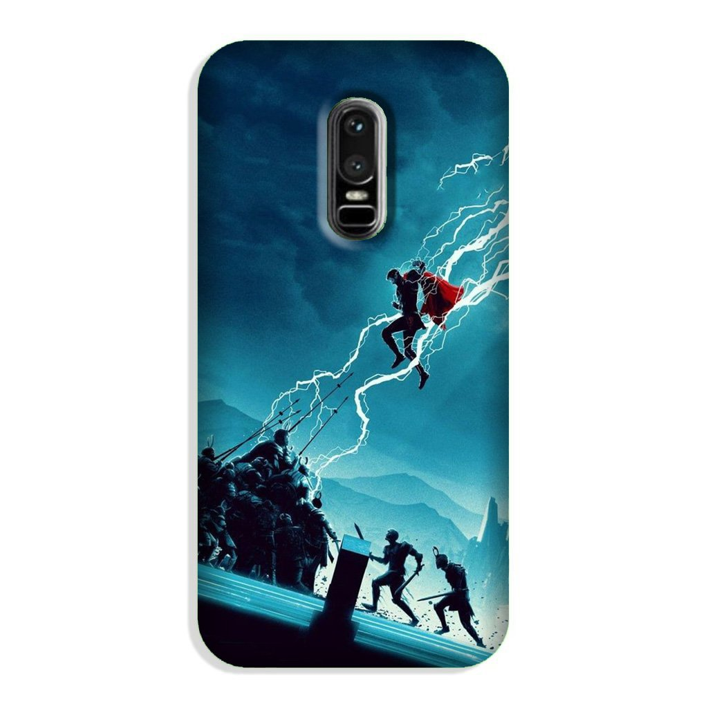 Thor Avengers Case for OnePlus 6 (Design No. 243)