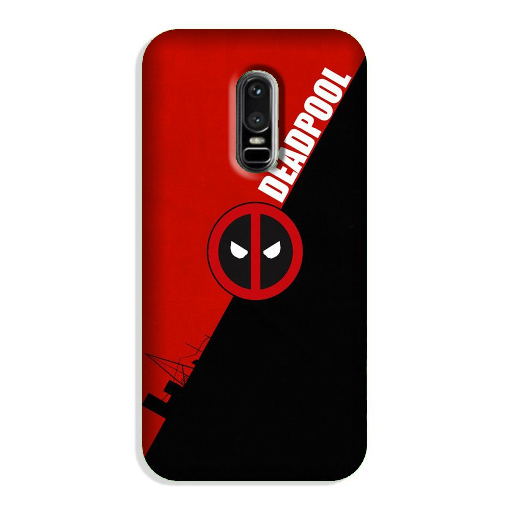 Deadpool Case for OnePlus 6 (Design No. 248)