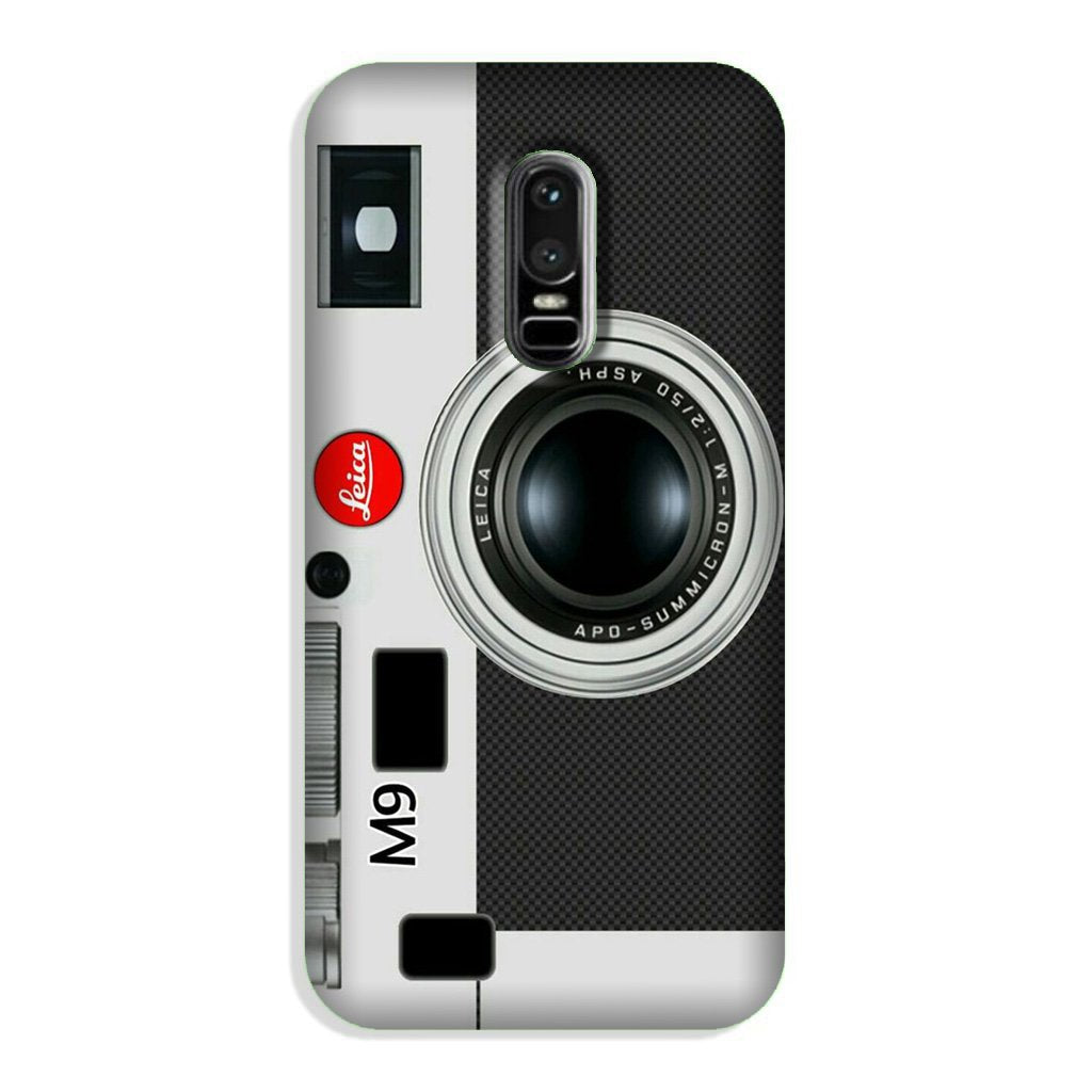 Camera Case for OnePlus 6 (Design No. 257)
