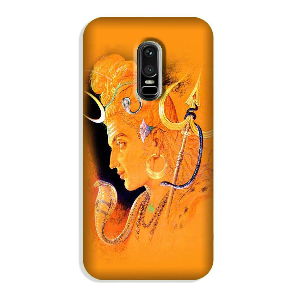 Lord Shiva Case for OnePlus 6 (Design No. 293)