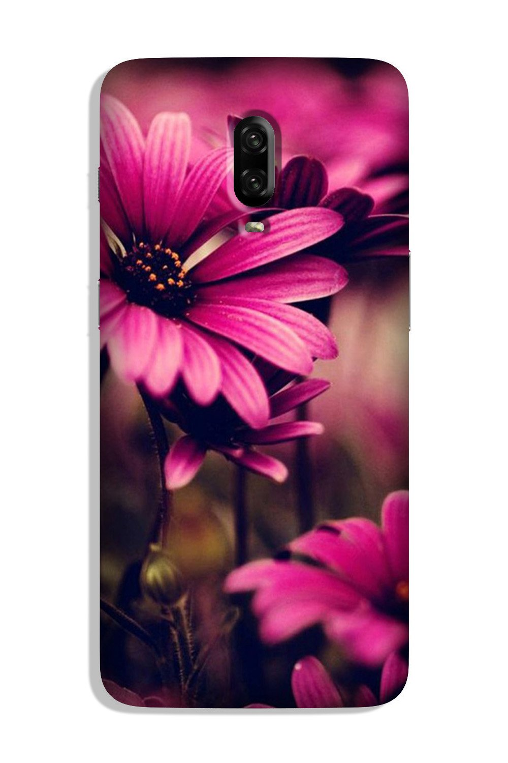 Purple Daisy Case for OnePlus 7