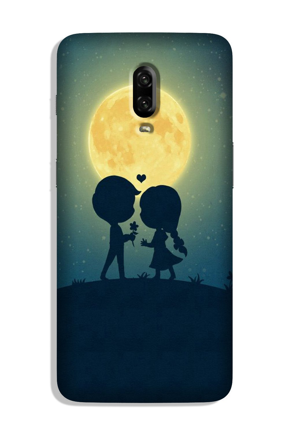 Love Couple Case for OnePlus 7  (Design - 109)