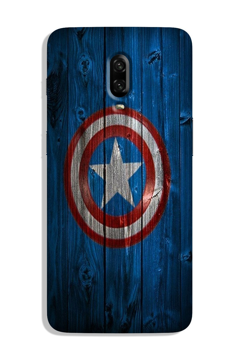Captain America Superhero Case for OnePlus 7  (Design - 118)