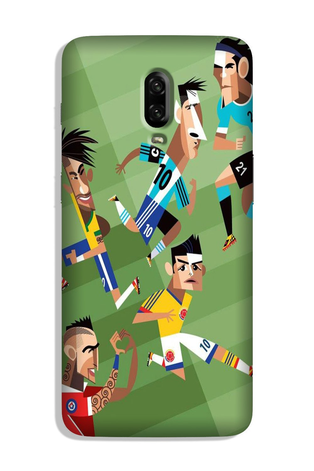 Football Case for OnePlus 7  (Design - 166)