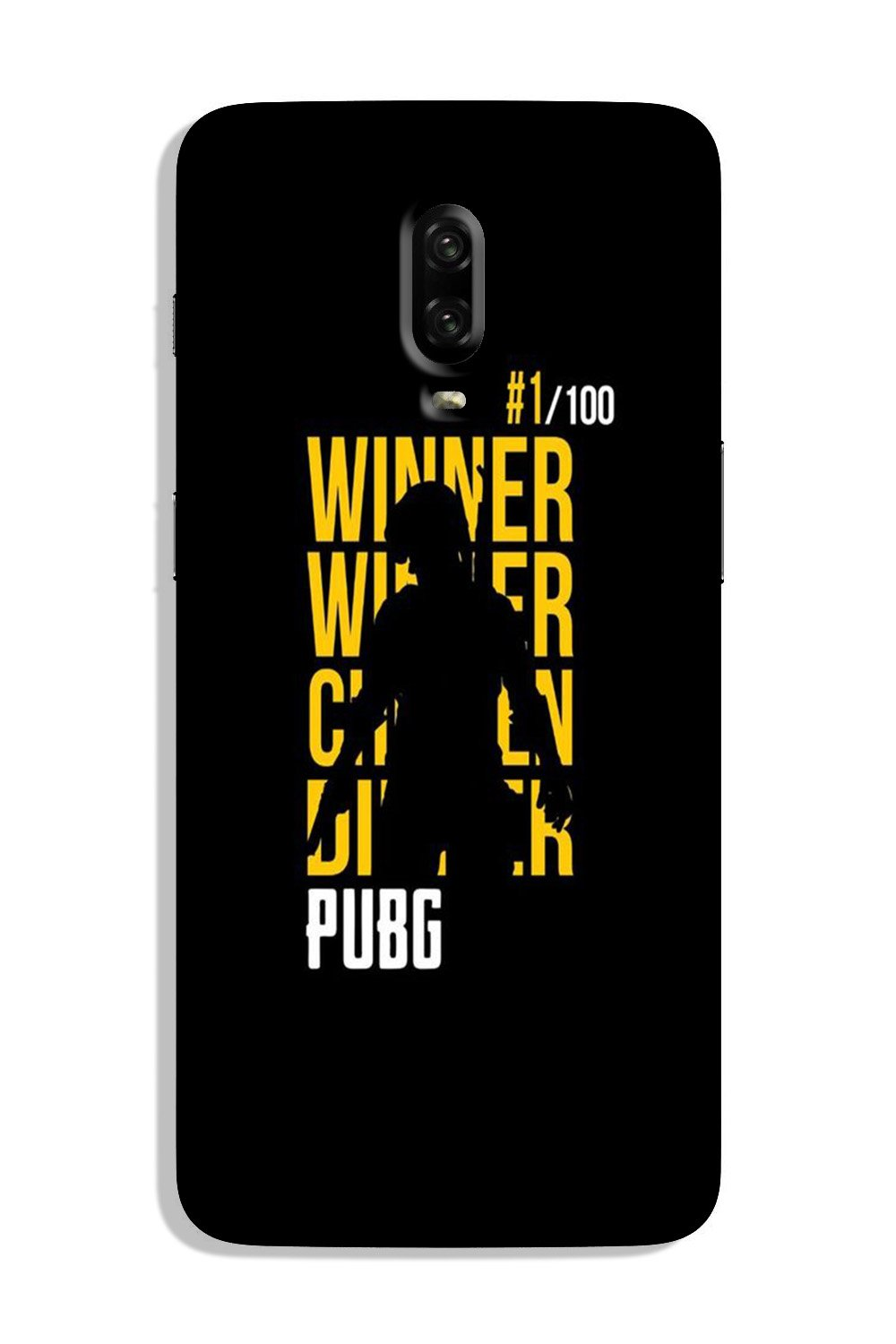 Pubg Winner Winner Case for OnePlus 7  (Design - 177)
