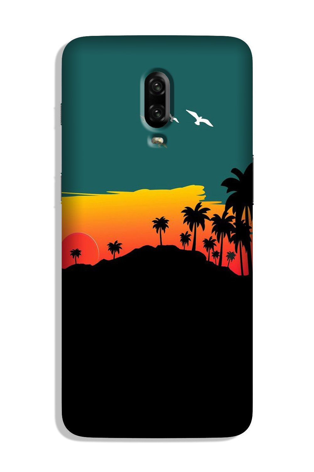 Sky Trees Case for OnePlus 7 (Design - 191)