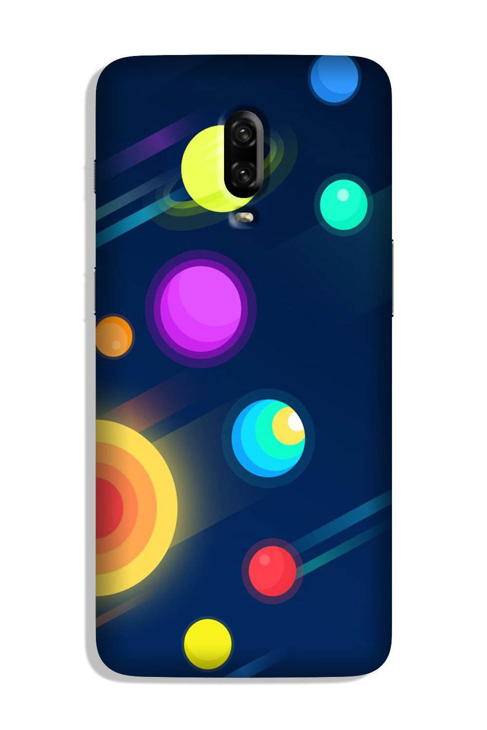 Solar Planet Case for OnePlus 7 (Design - 197)