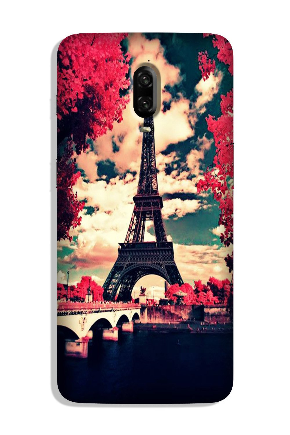 Eiffel Tower Case for OnePlus 6T (Design No. 212)