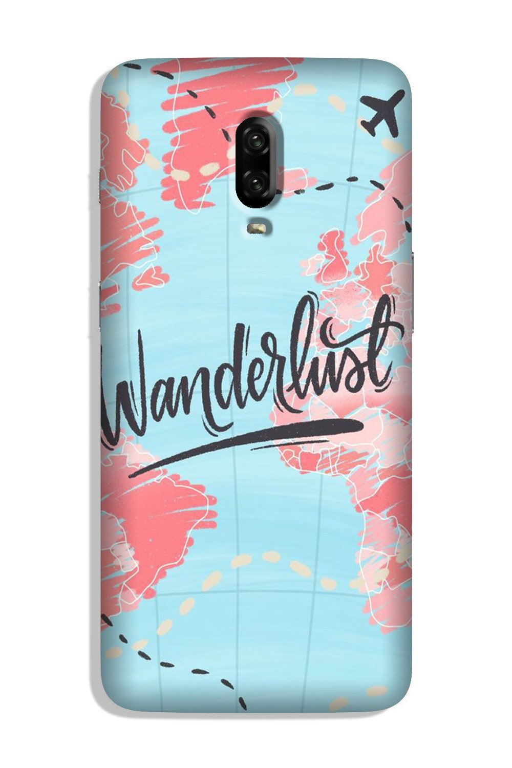 Wonderlust Travel Case for OnePlus 6T (Design No. 223)