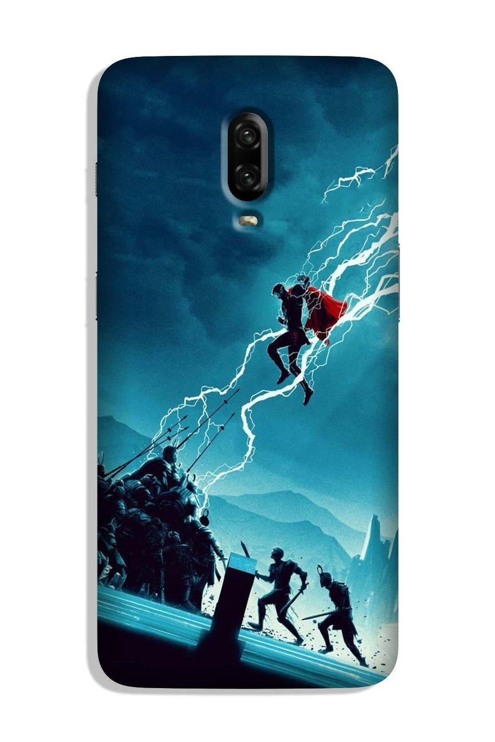 Thor Avengers Case for OnePlus 6T (Design No. 243)