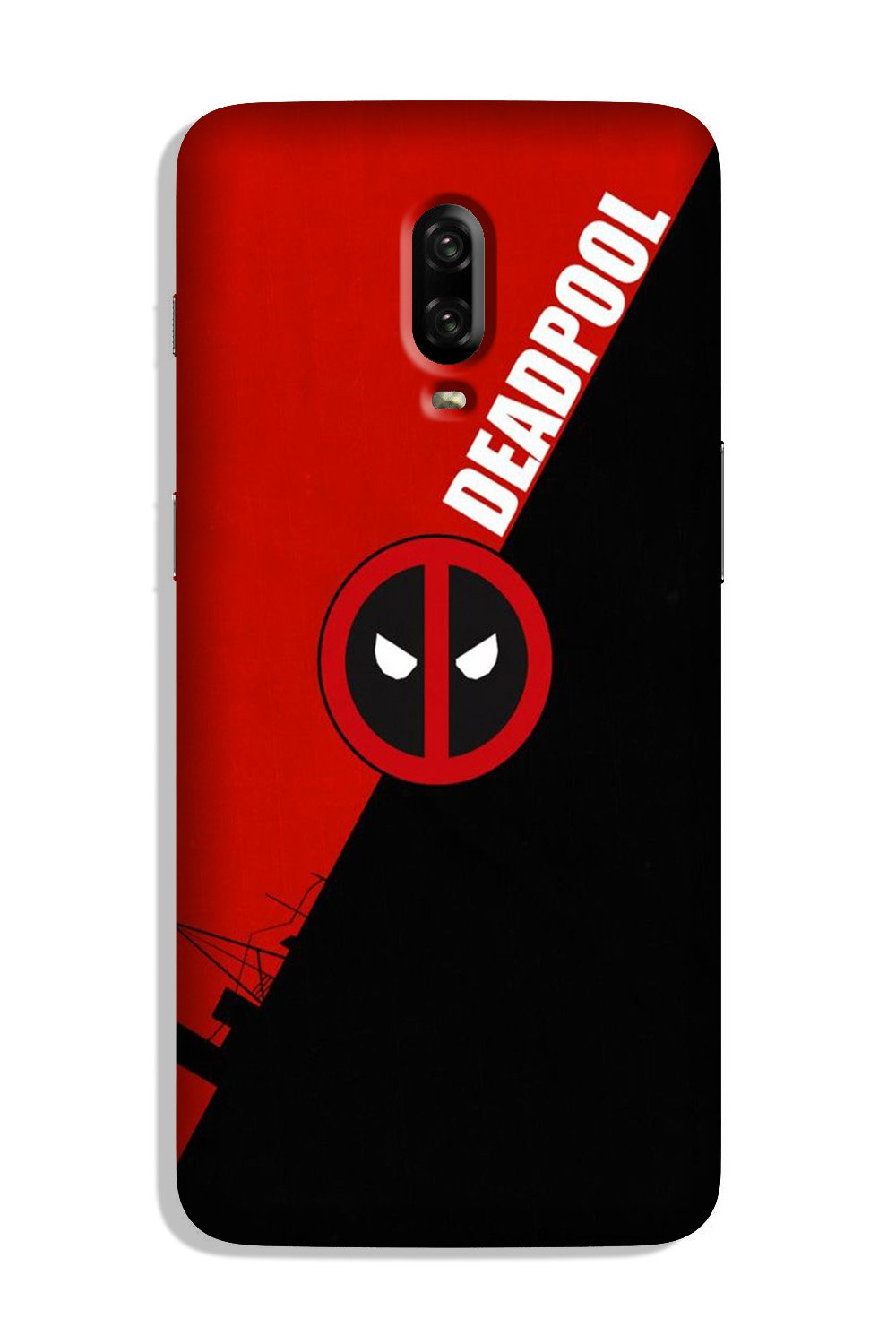 Deadpool Case for OnePlus 6T (Design No. 248)