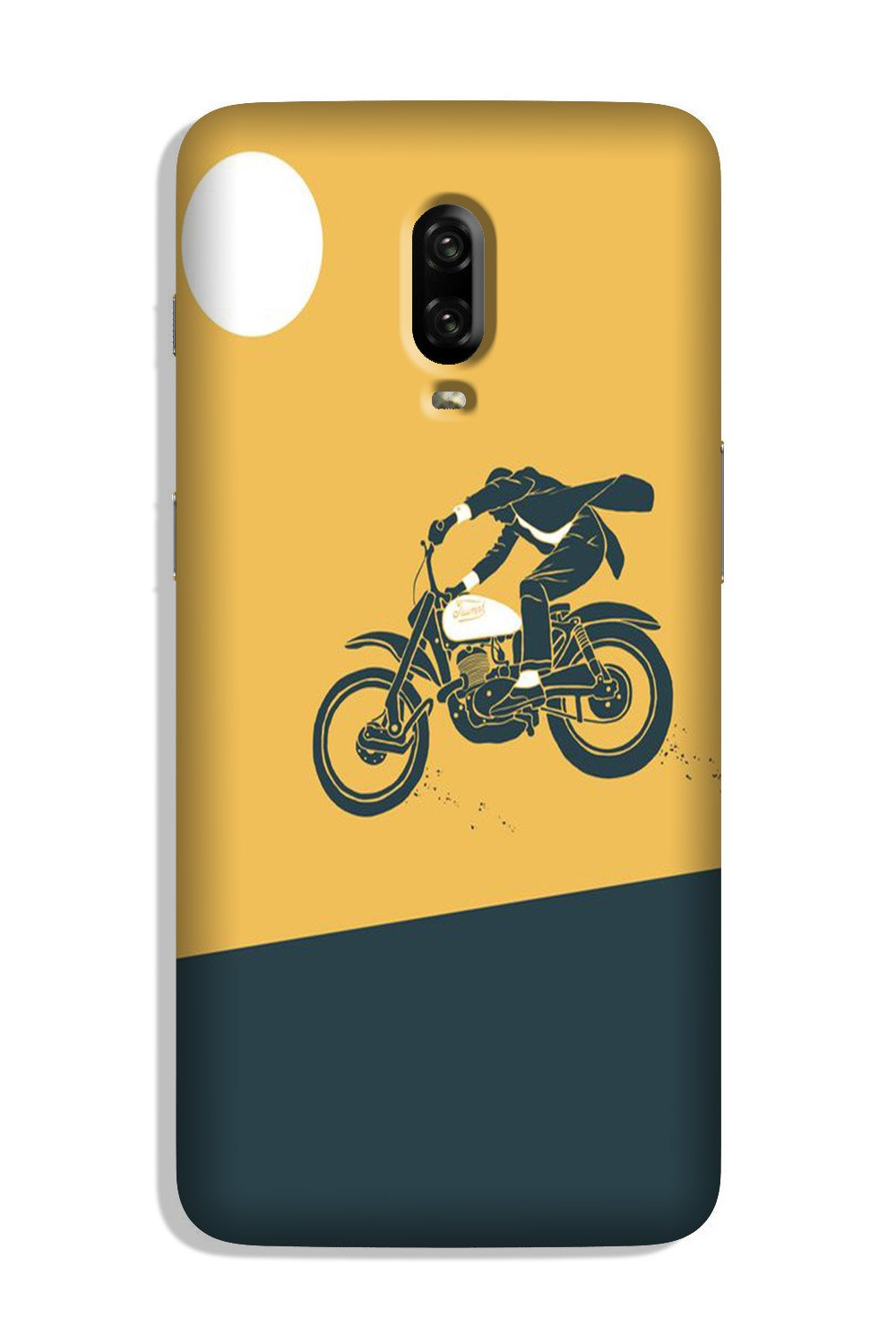 Bike Lovers Case for OnePlus 6T (Design No. 256)