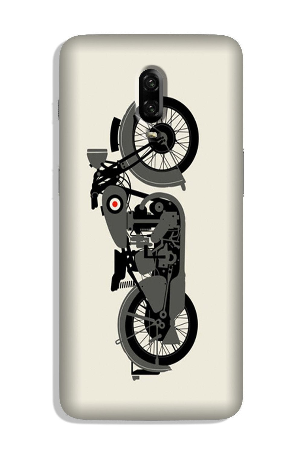 MotorCycle Case for OnePlus 6T (Design No. 259)