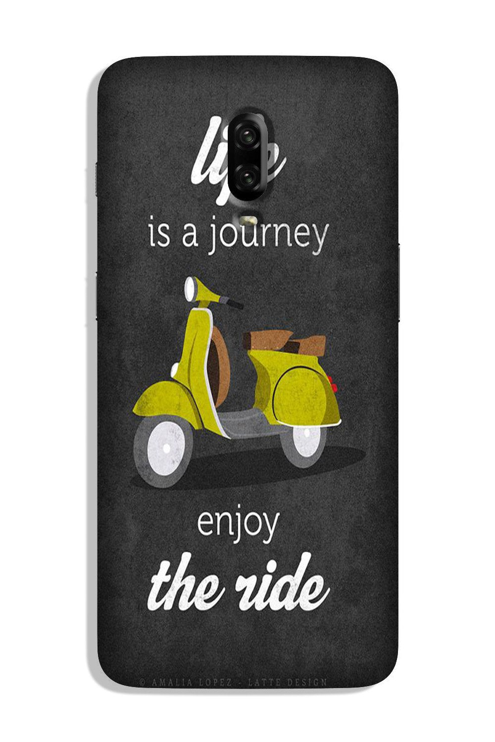 Life is a Journey Case for OnePlus 6T (Design No. 261)