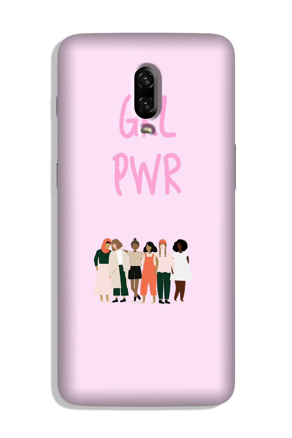 Girl Power Case for OnePlus 6T (Design No. 267)