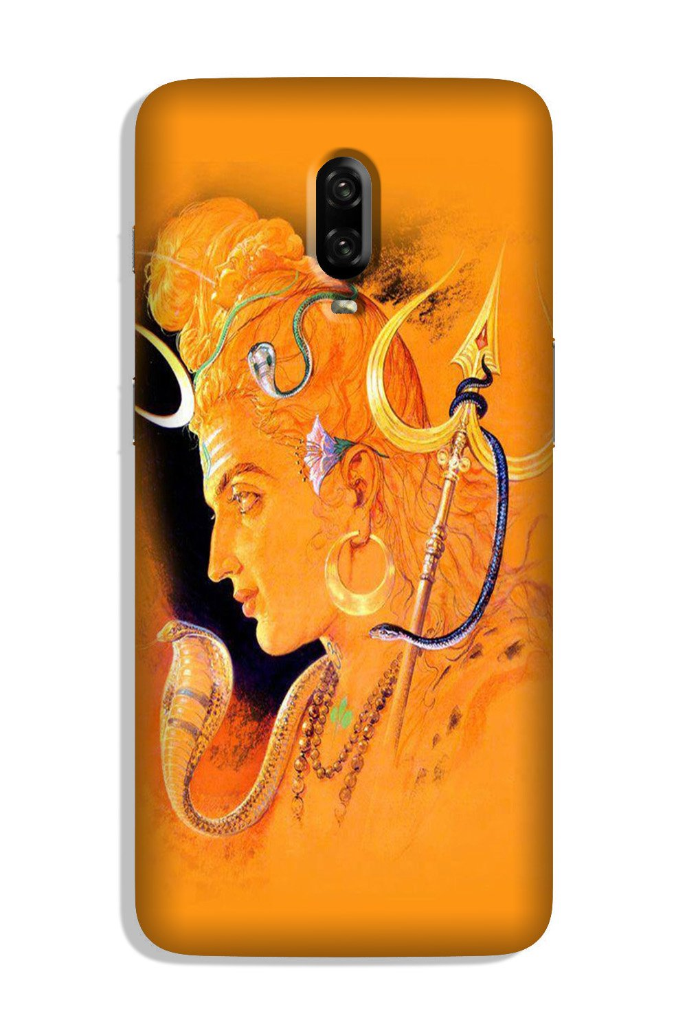 Lord Shiva Case for OnePlus 6T (Design No. 293)