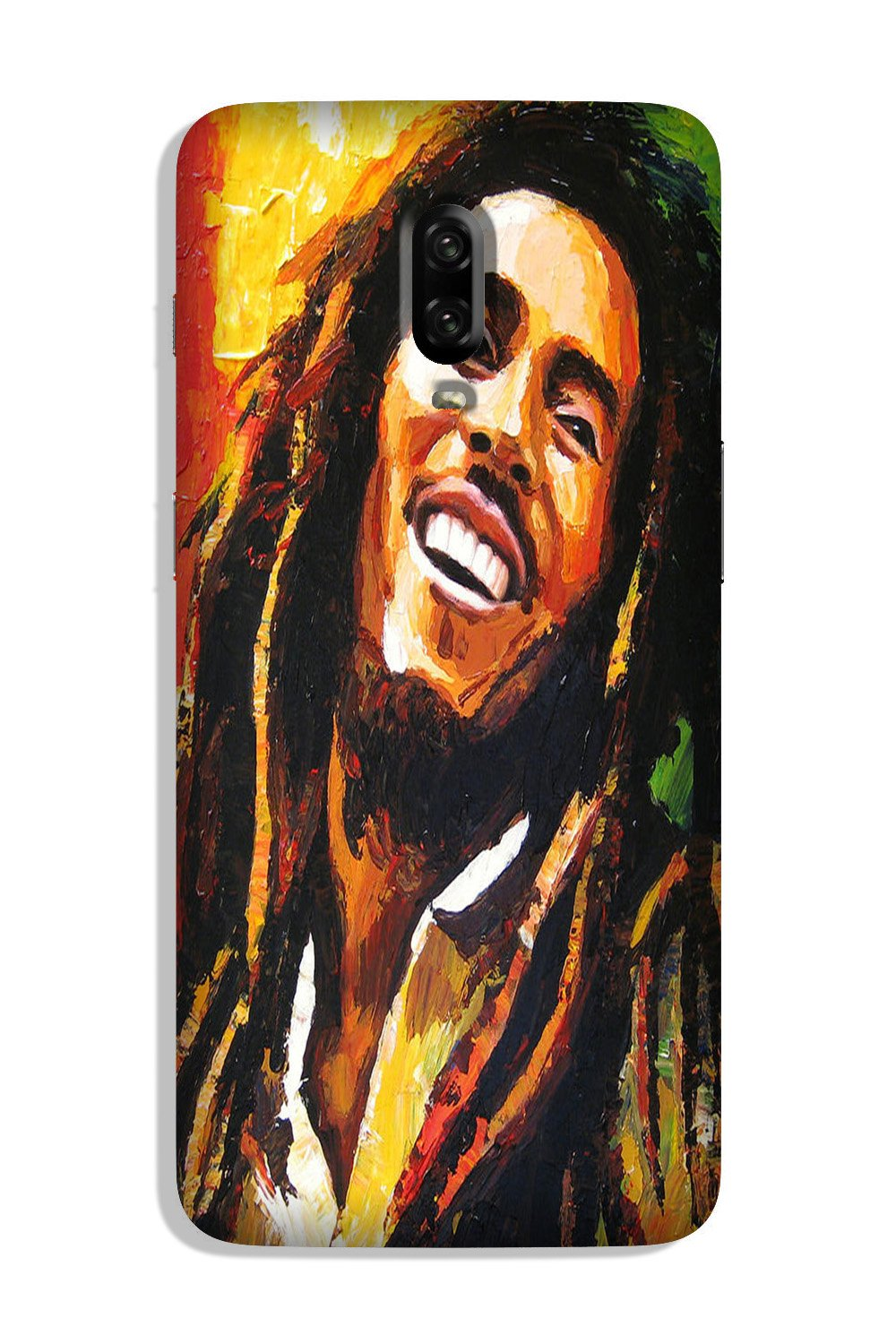 Bob marley Case for OnePlus 6T (Design No. 295)