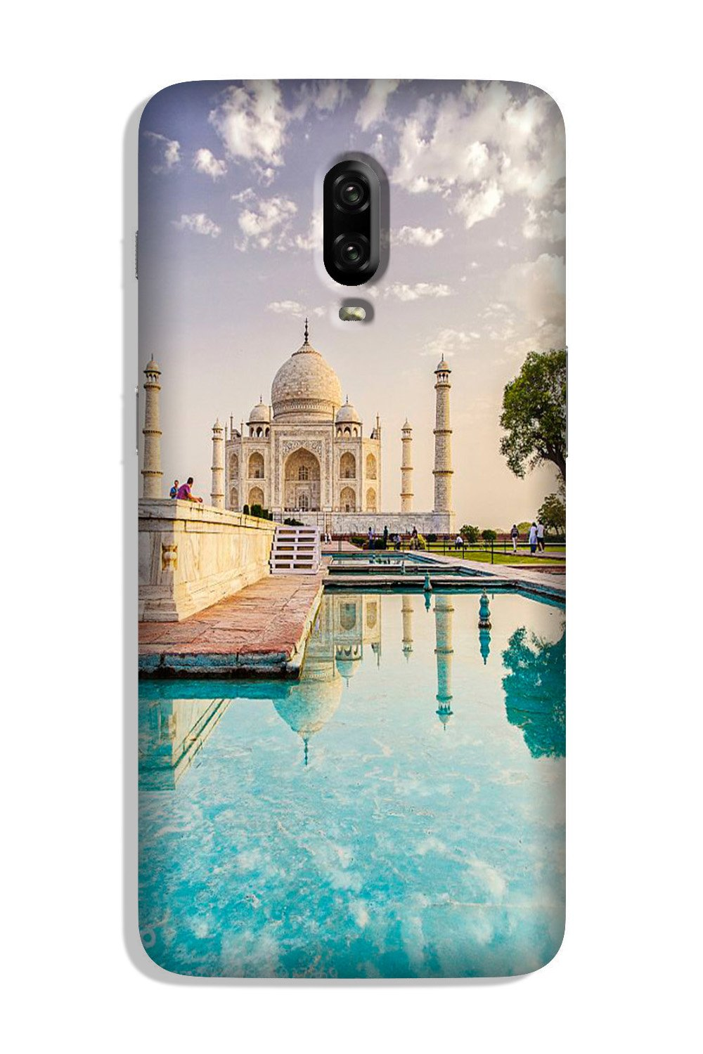 Taj Mahal Case for OnePlus 6T (Design No. 297)