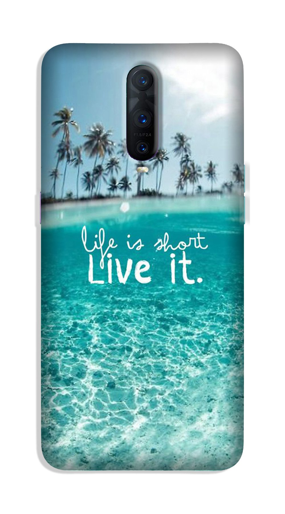 Life is short live it Case for OnePlus 7 Pro