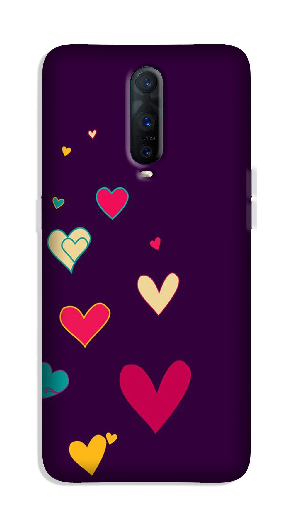Purple Background Case for OnePlus 7 Pro  (Design - 107)
