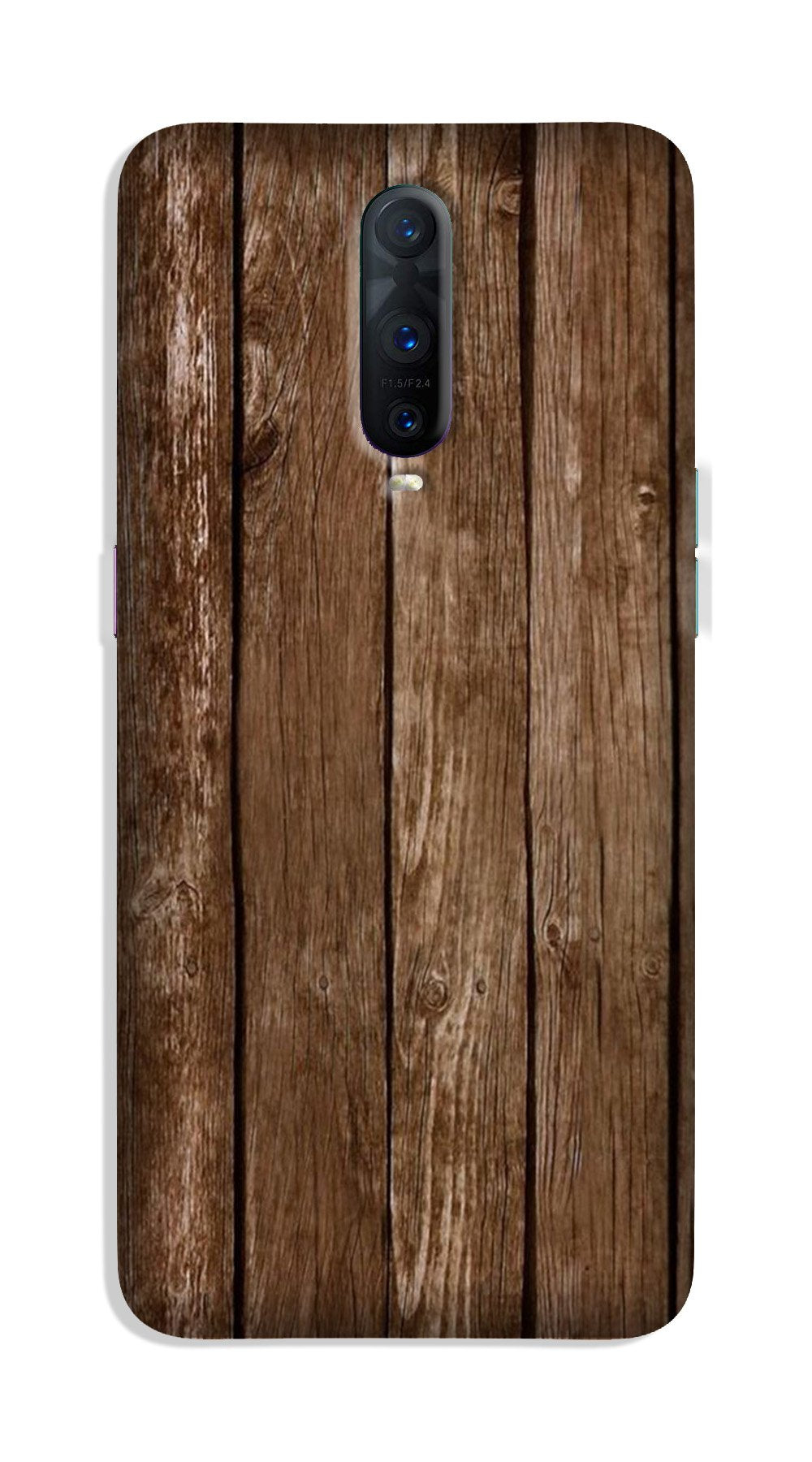 Wooden Look Case for OnePlus 7 Pro  (Design - 112)