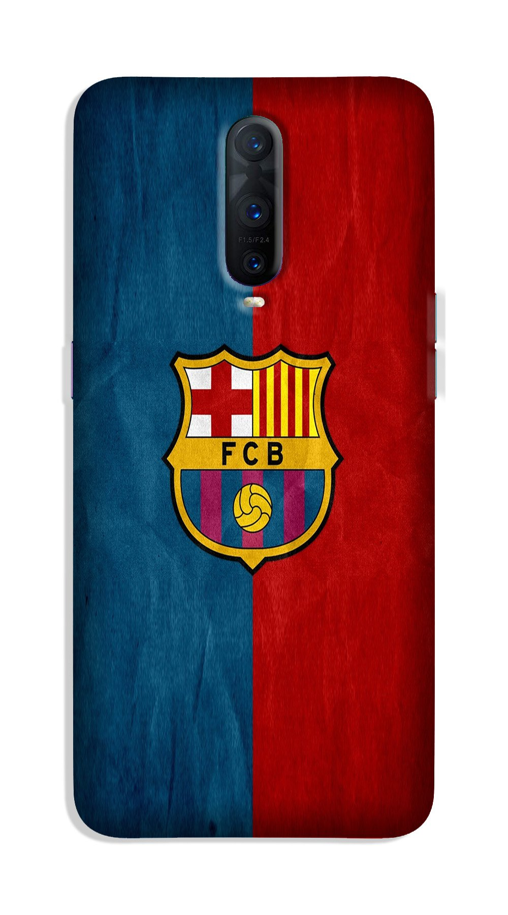 FCB Football Case for OnePlus 7 Pro  (Design - 123)