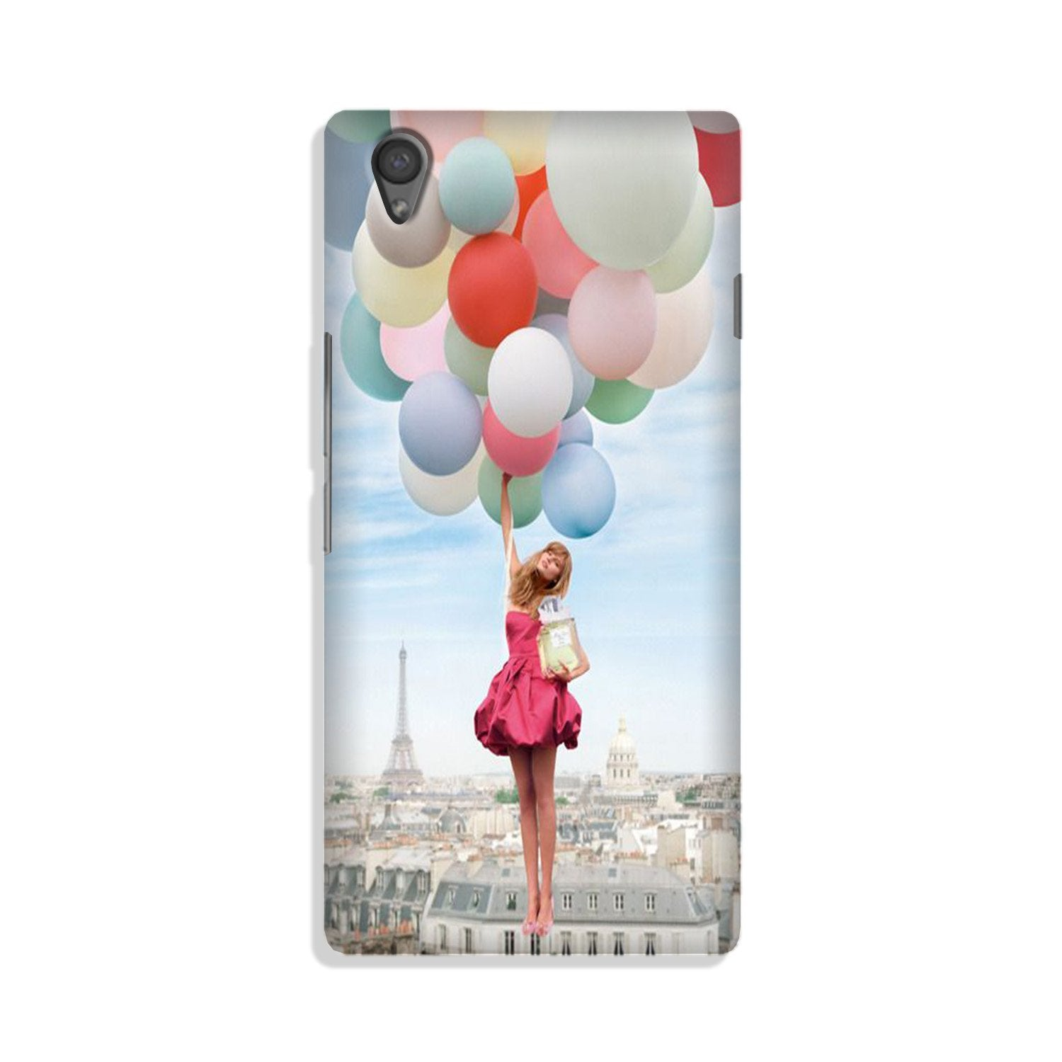 Girl with Baloon Case for Vivo Y51L