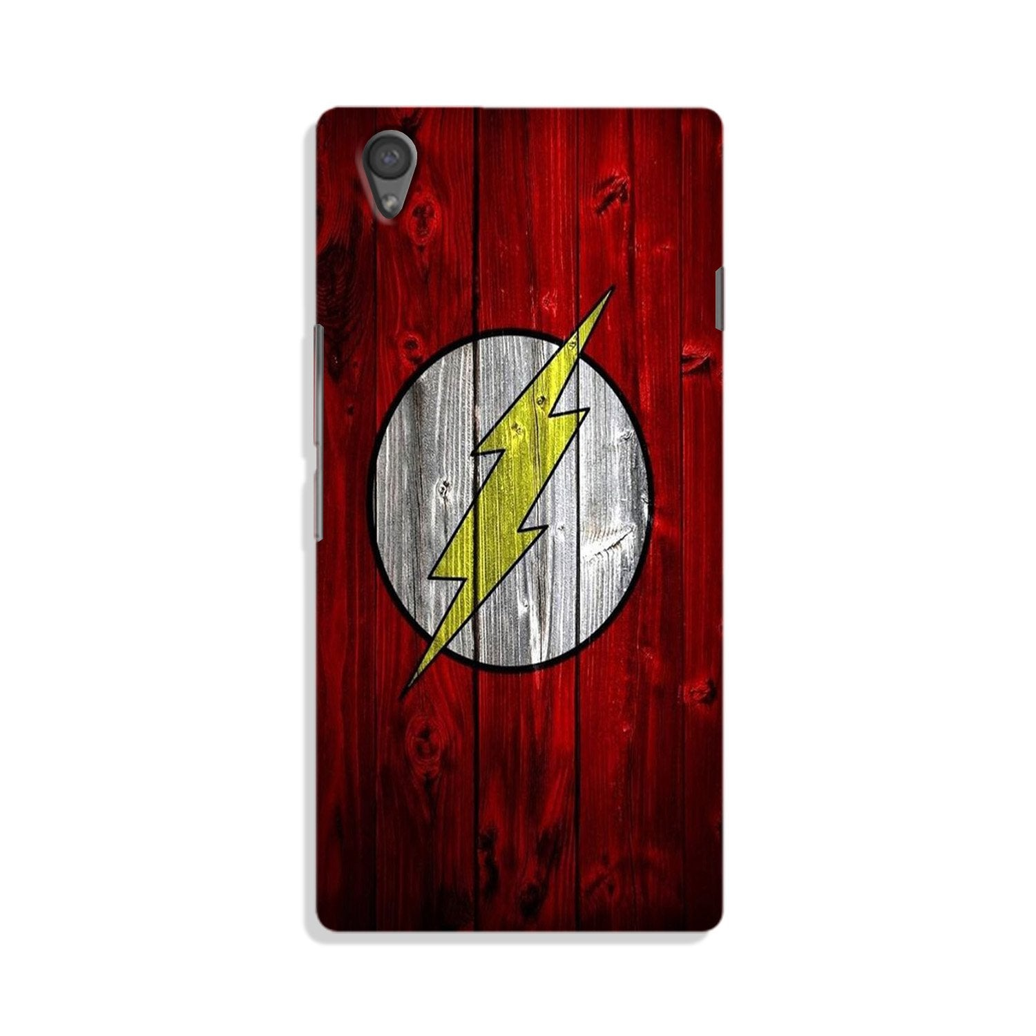 Flash Superhero Case for Vivo Y51L  (Design - 116)
