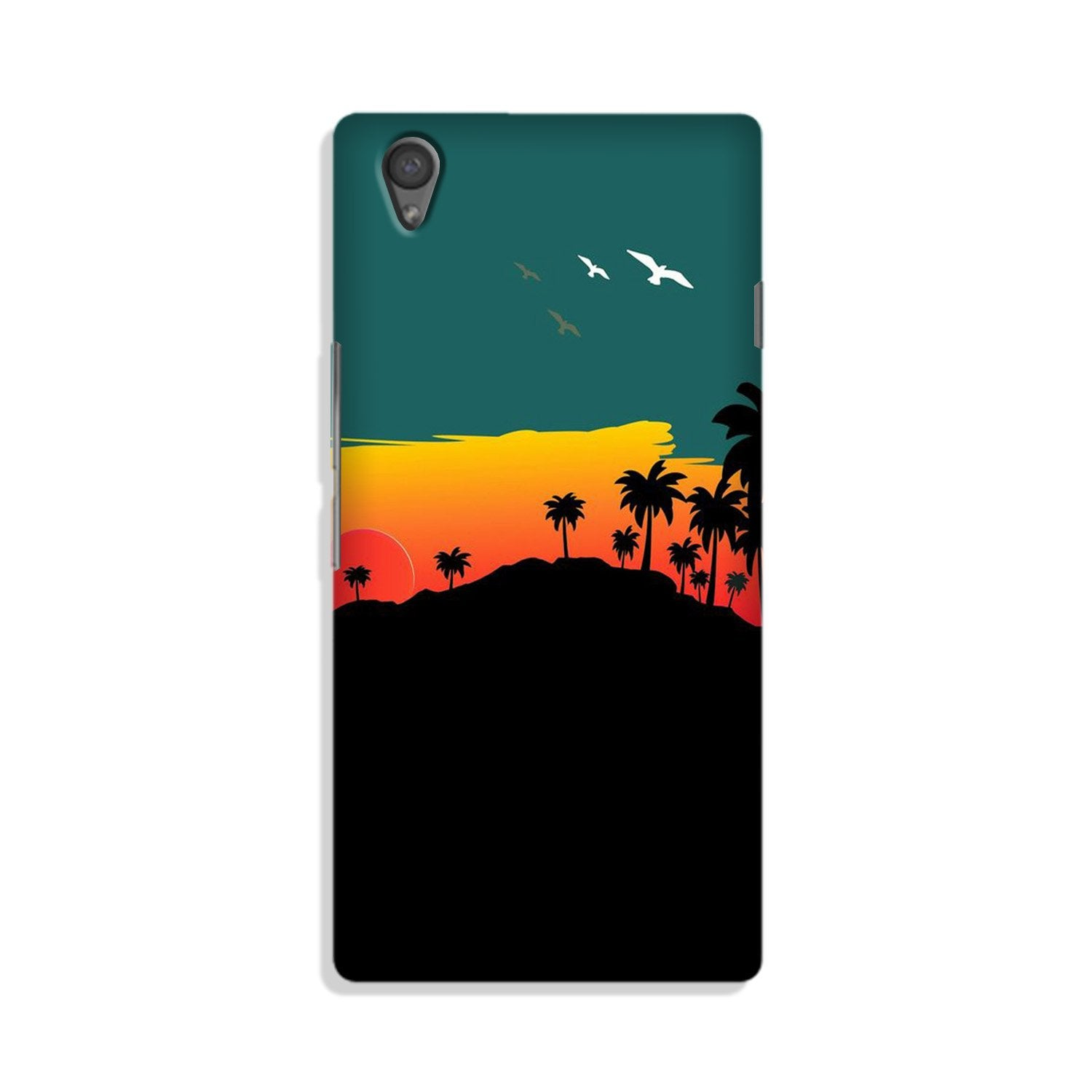 Sky Trees Case for Vivo Y51L (Design - 191)