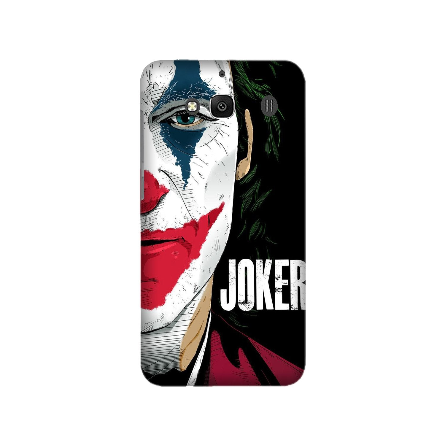 Joker Mobile Back Case for Redmi 2 Prime  (Design - 301)