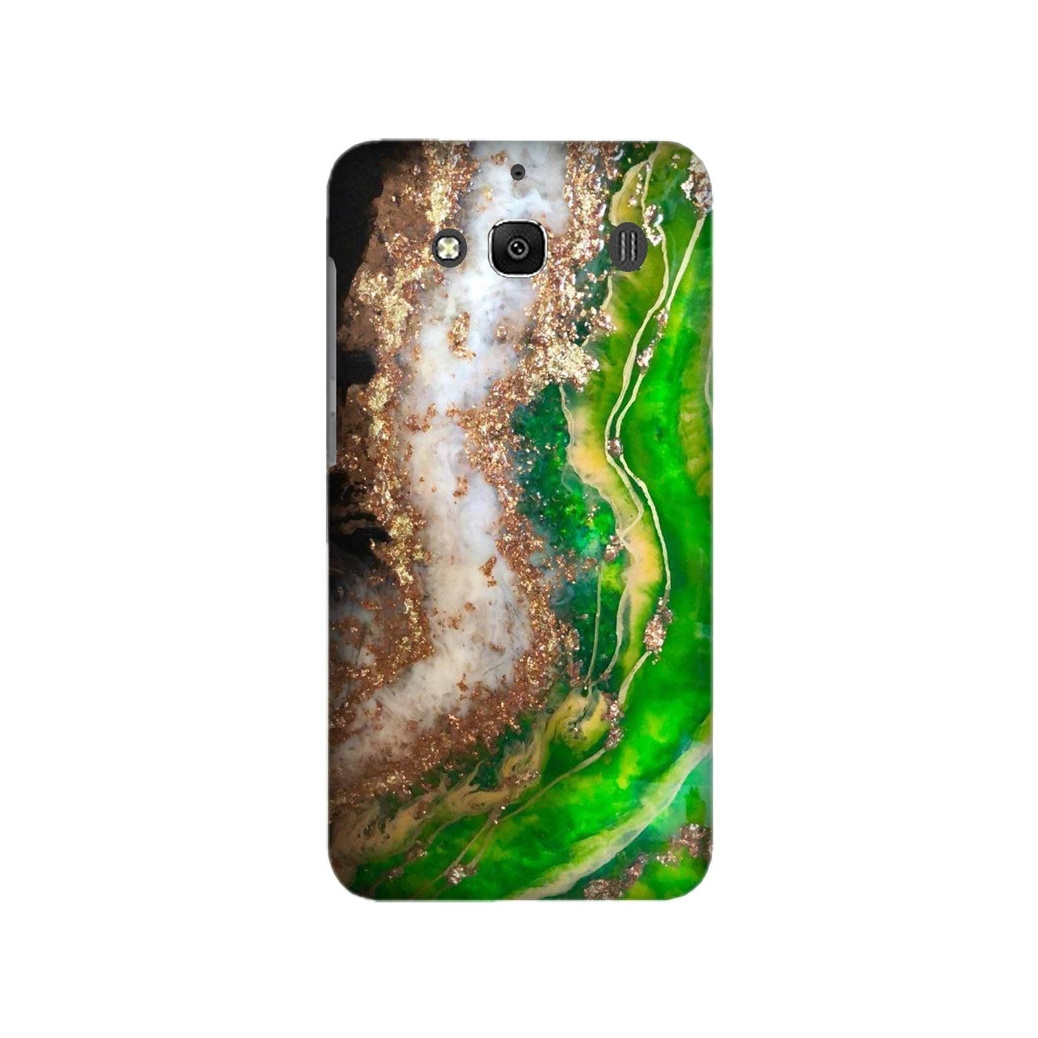 Marble Texture Mobile Back Case for Redmi 2 Prime  (Design - 307)