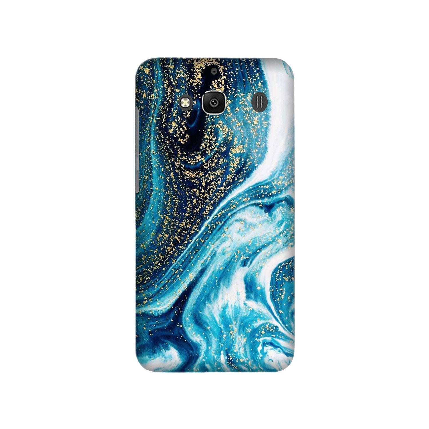 Marble Texture Mobile Back Case for Redmi 2 Prime  (Design - 308)