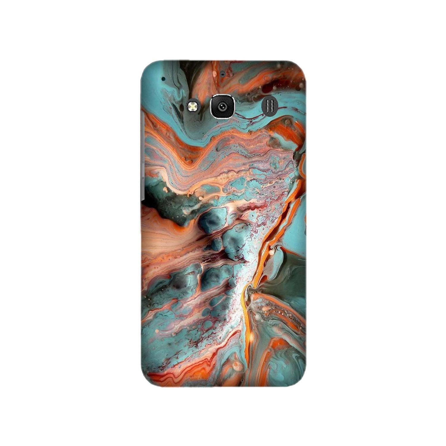 Marble Texture Mobile Back Case for Redmi 2 Prime  (Design - 309)