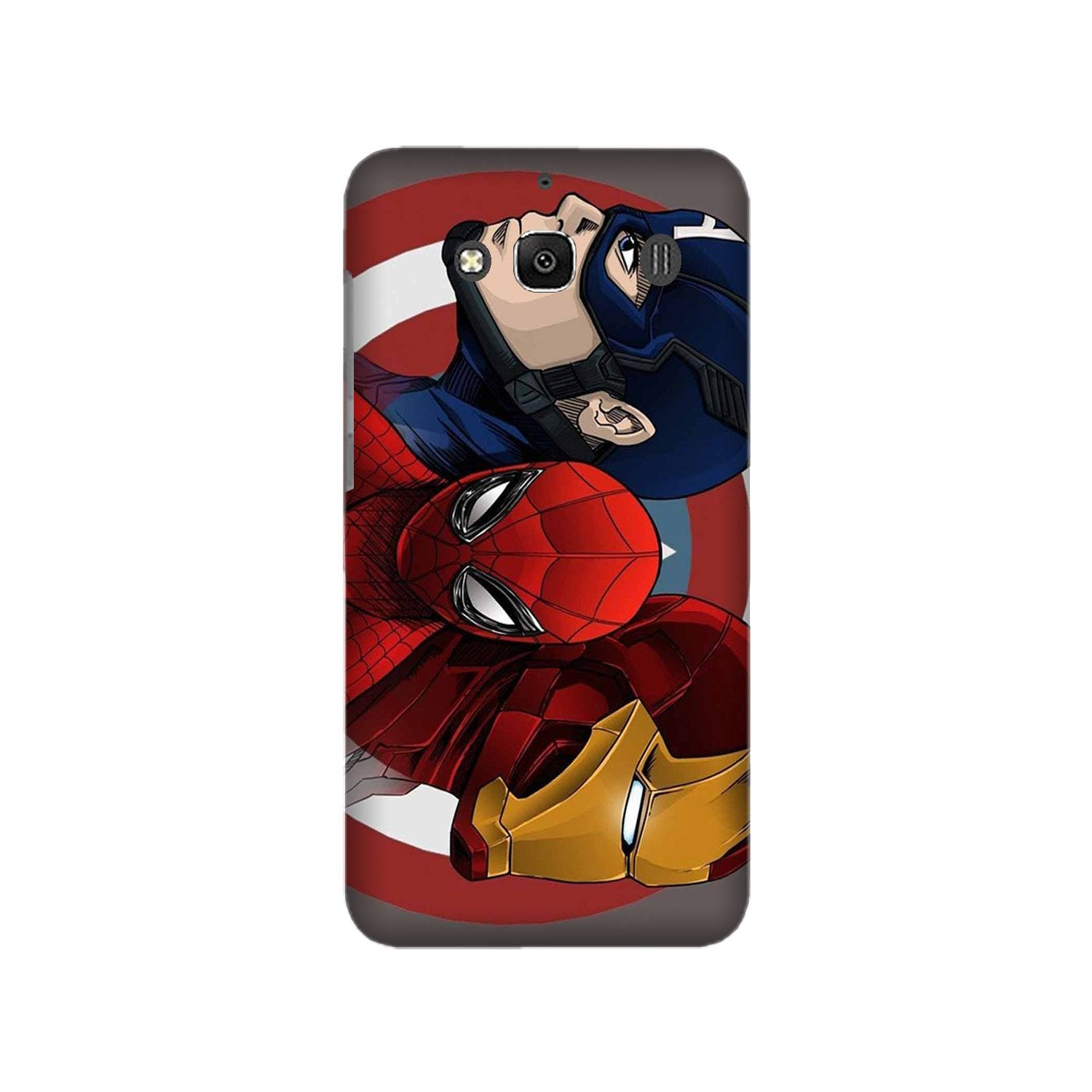 Superhero Mobile Back Case for Redmi 2 Prime  (Design - 311)