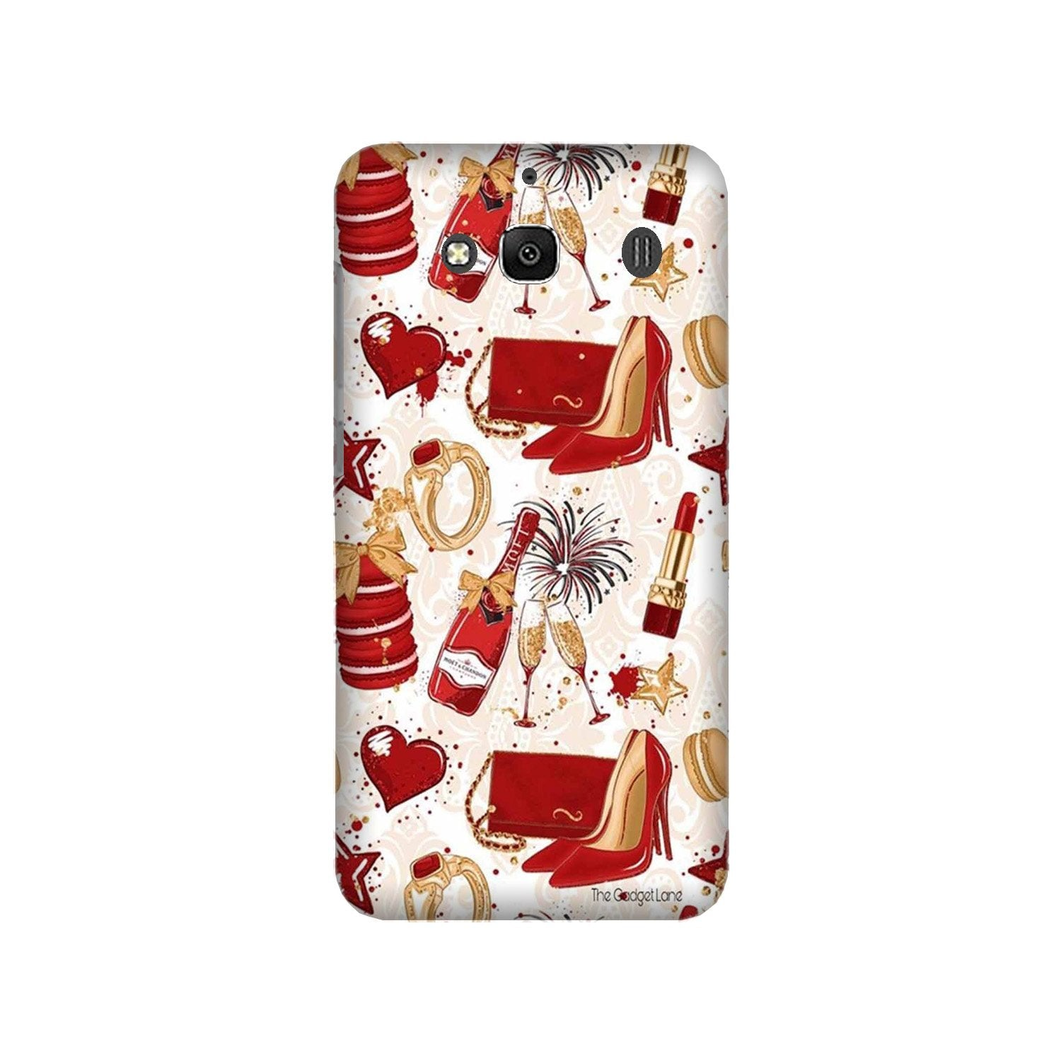 Girlish Mobile Back Case for Redmi 2 Prime  (Design - 312)