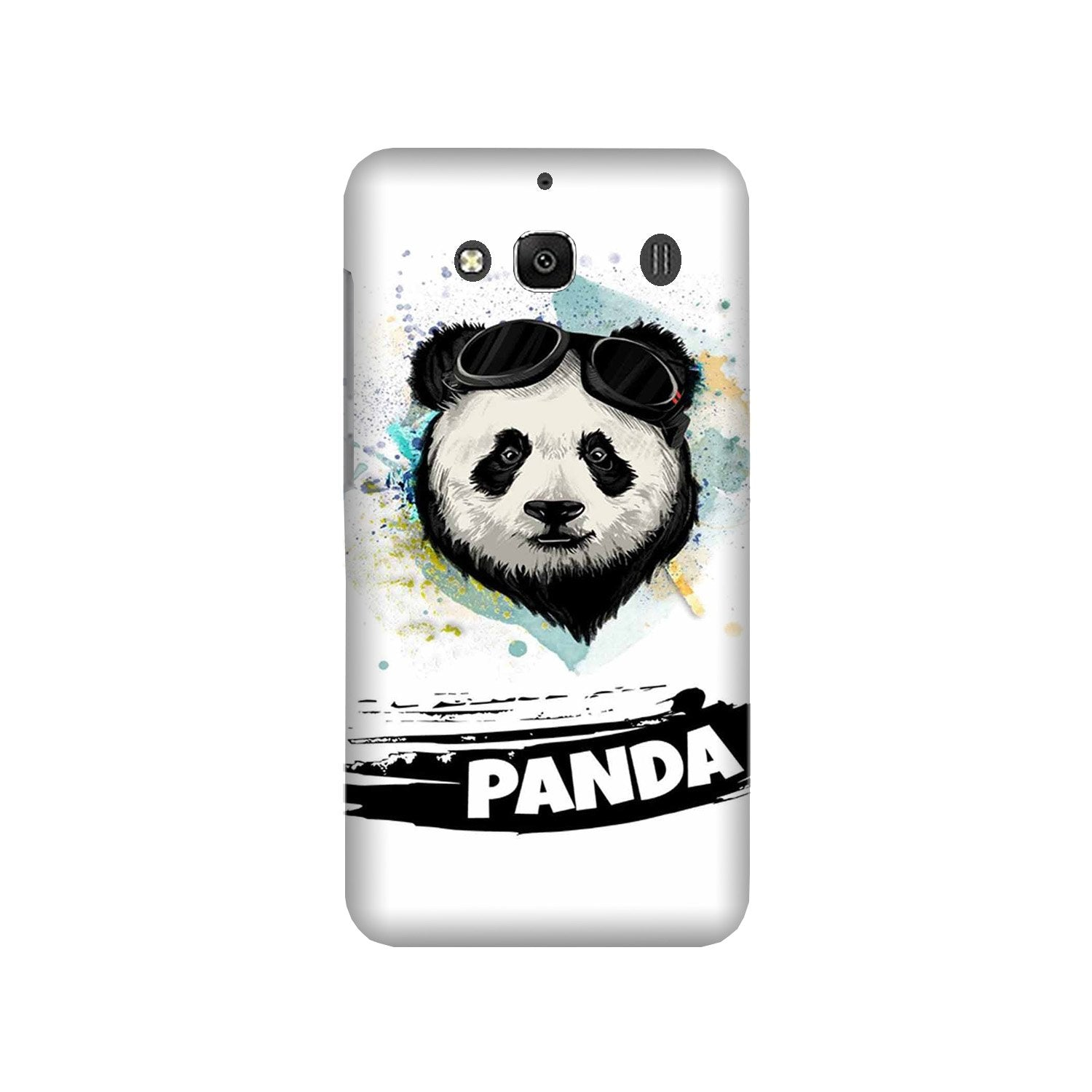 Panda Mobile Back Case for Redmi 2 Prime  (Design - 319)