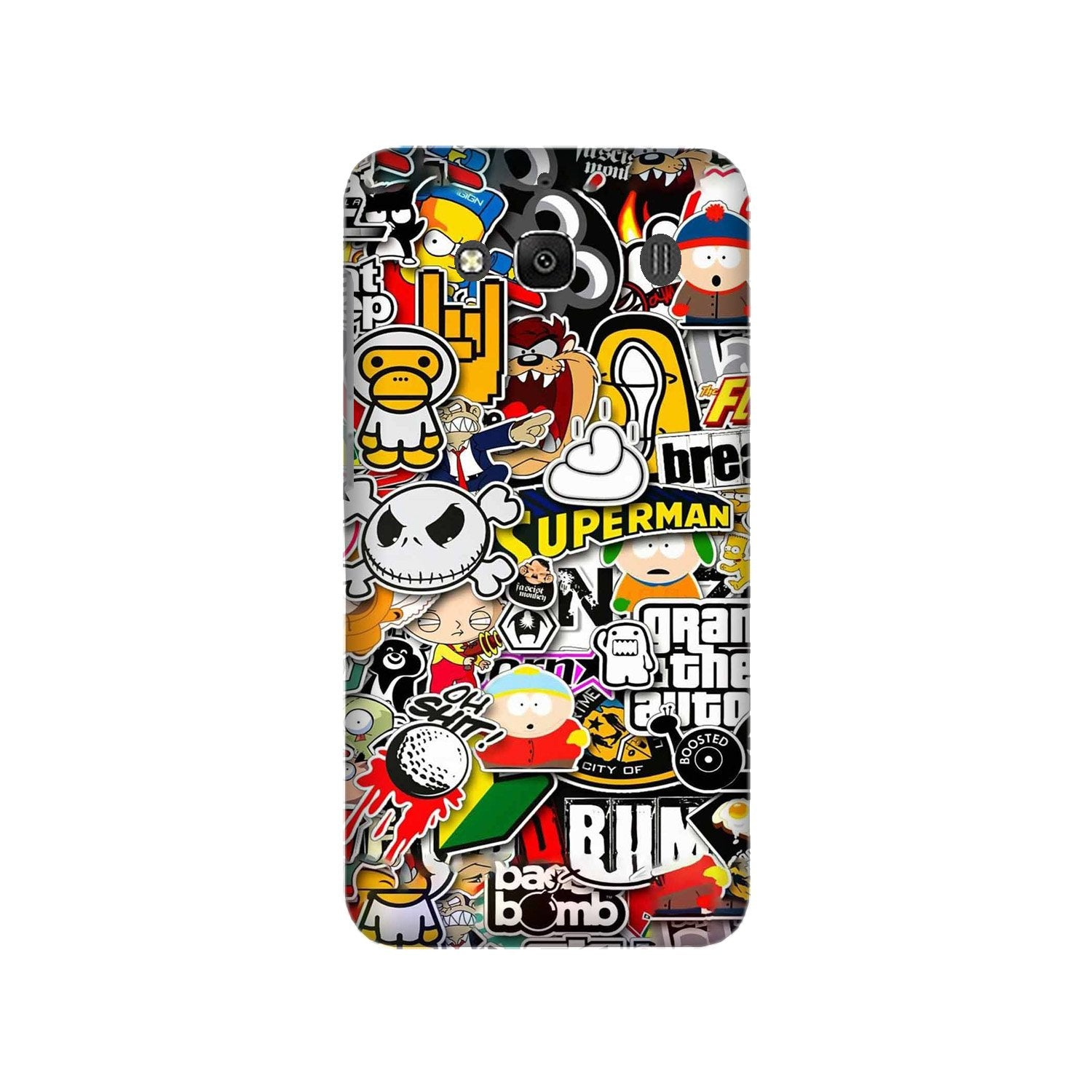 Designer Mobile Back Case for Redmi 2 Prime  (Design - 320)