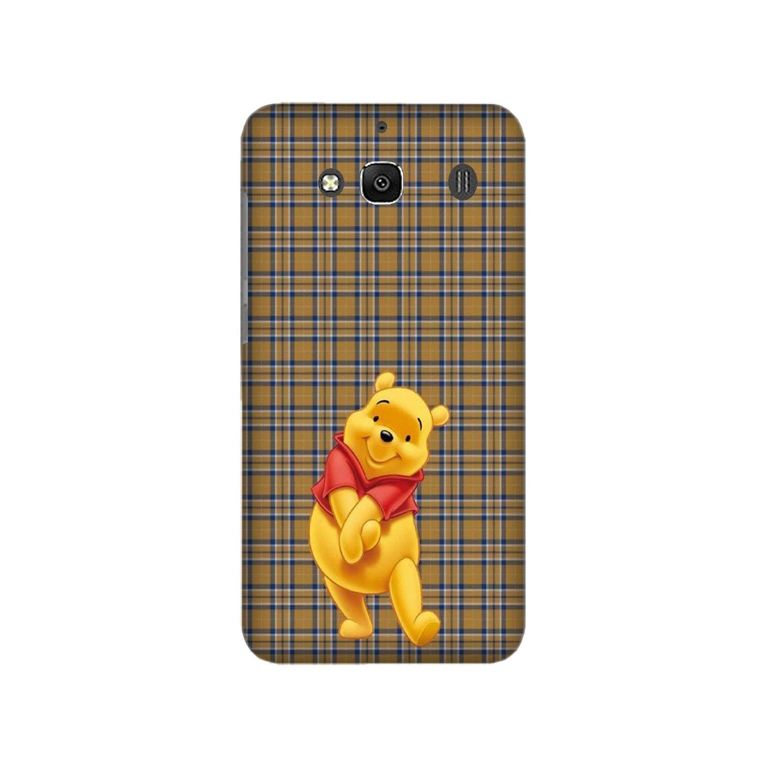 Pooh Mobile Back Case for Redmi 2 Prime  (Design - 321)