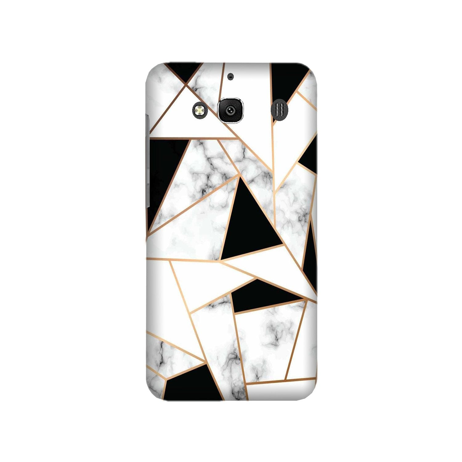Marble Texture Mobile Back Case for Redmi 2 Prime  (Design - 322)