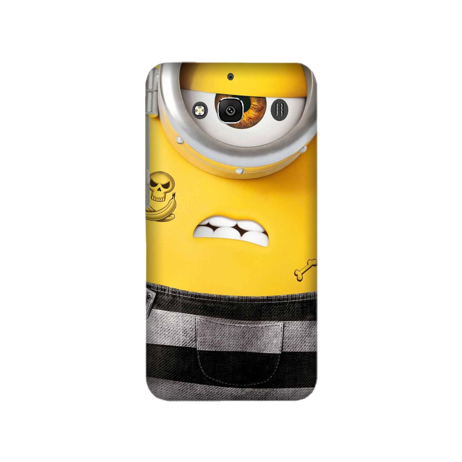 Minion Mobile Back Case for Redmi 2 Prime  (Design - 324)
