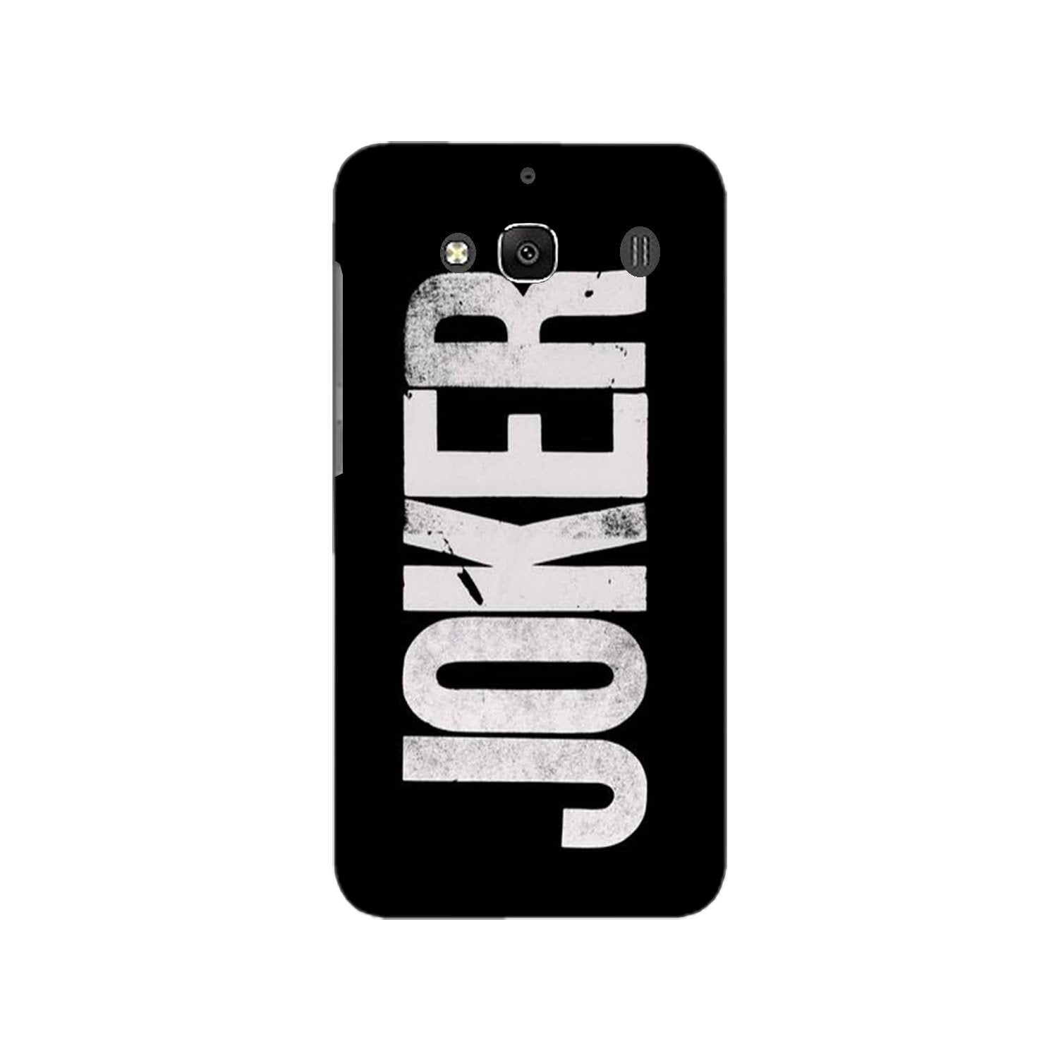 Joker Mobile Back Case for Redmi 2 Prime  (Design - 327)