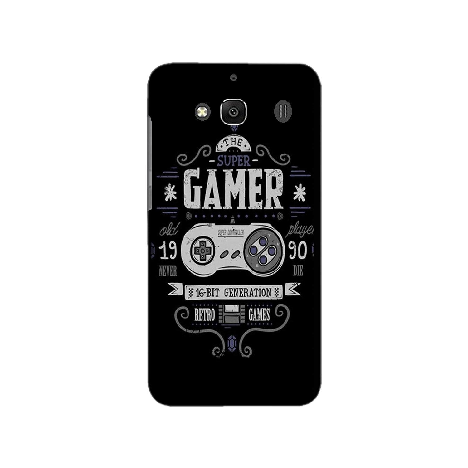 Gamer Mobile Back Case for Redmi 2 Prime  (Design - 330)