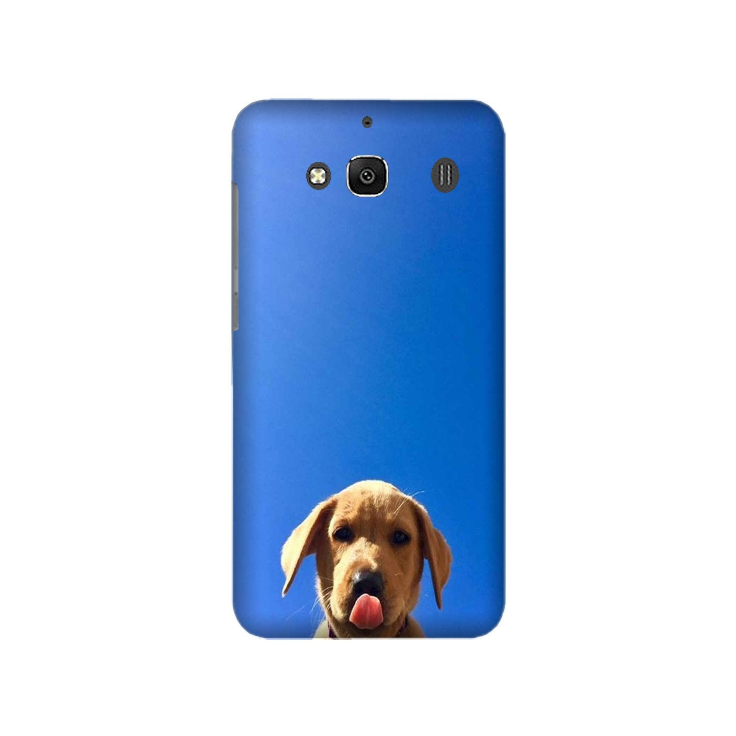 Dog Mobile Back Case for Redmi 2 Prime  (Design - 332)