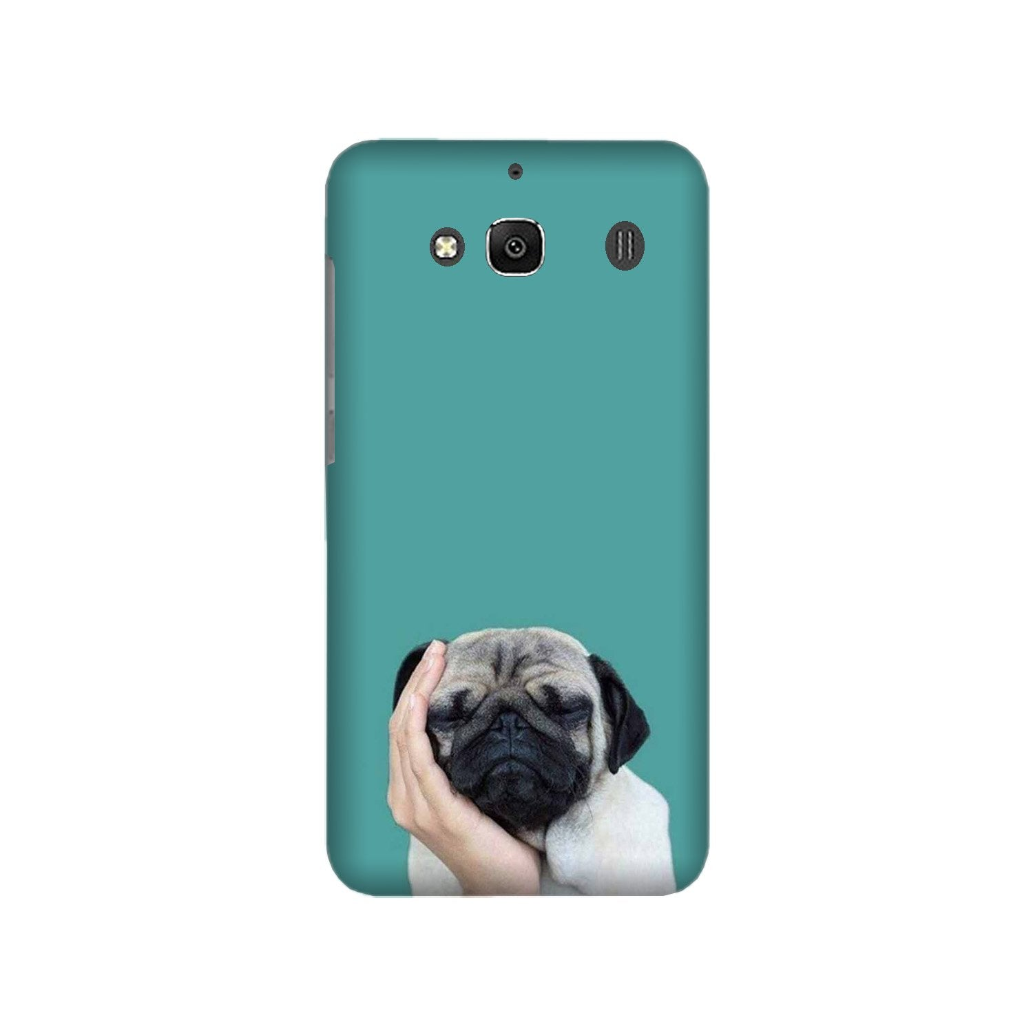 Puppy Mobile Back Case for Redmi 2 Prime  (Design - 333)