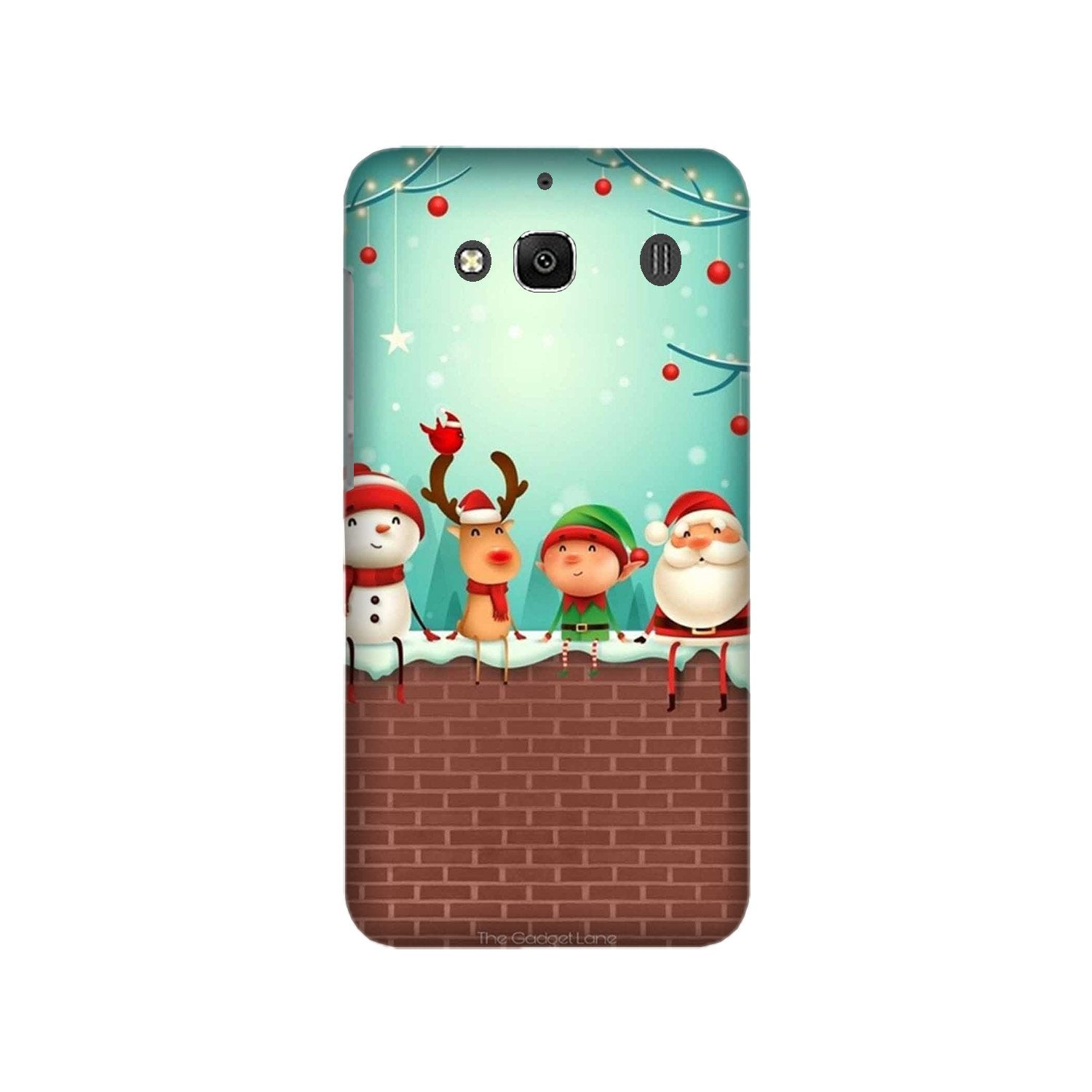 Santa Claus Mobile Back Case for Redmi 2 Prime  (Design - 334)