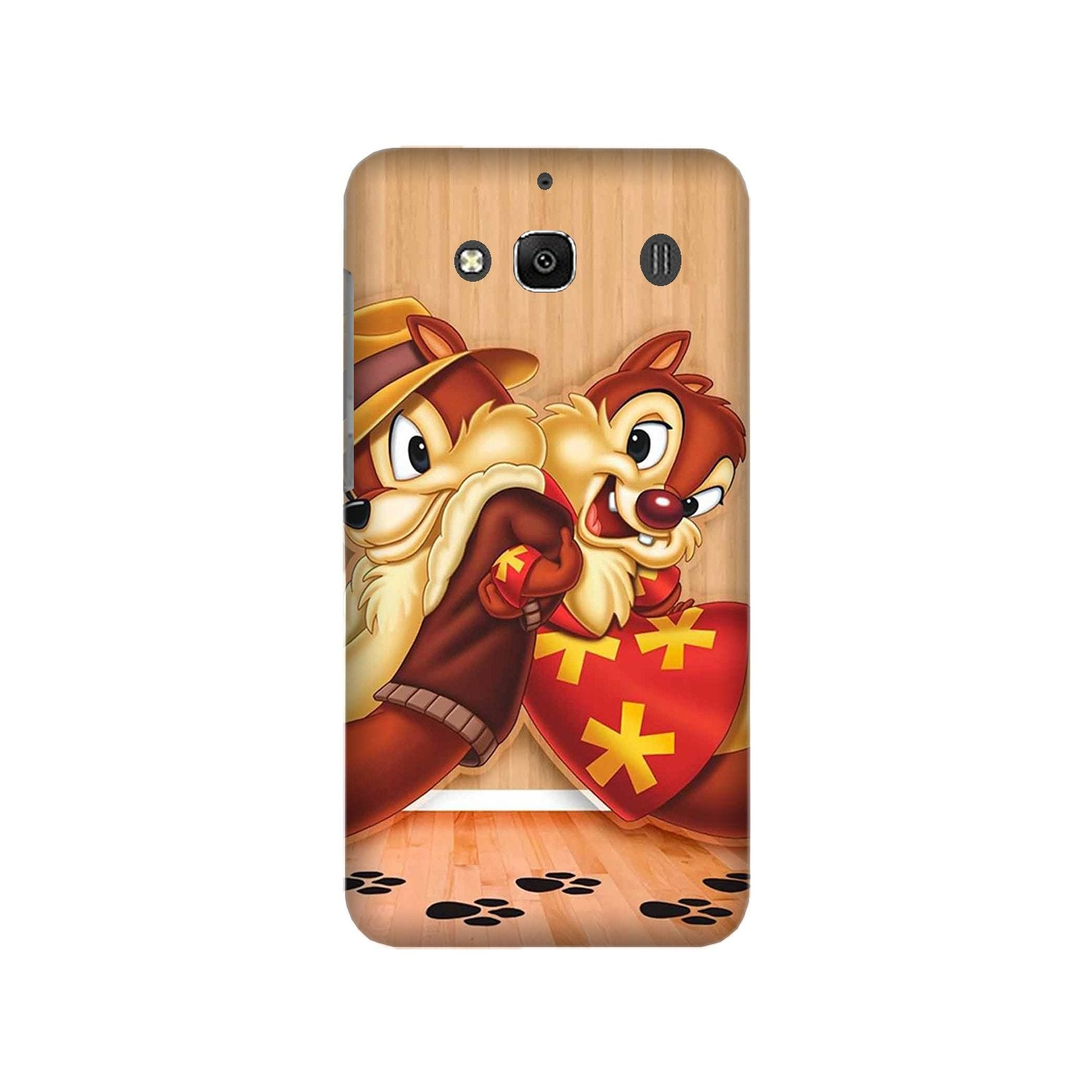 Chip n Dale Mobile Back Case for Redmi 2 Prime  (Design - 335)