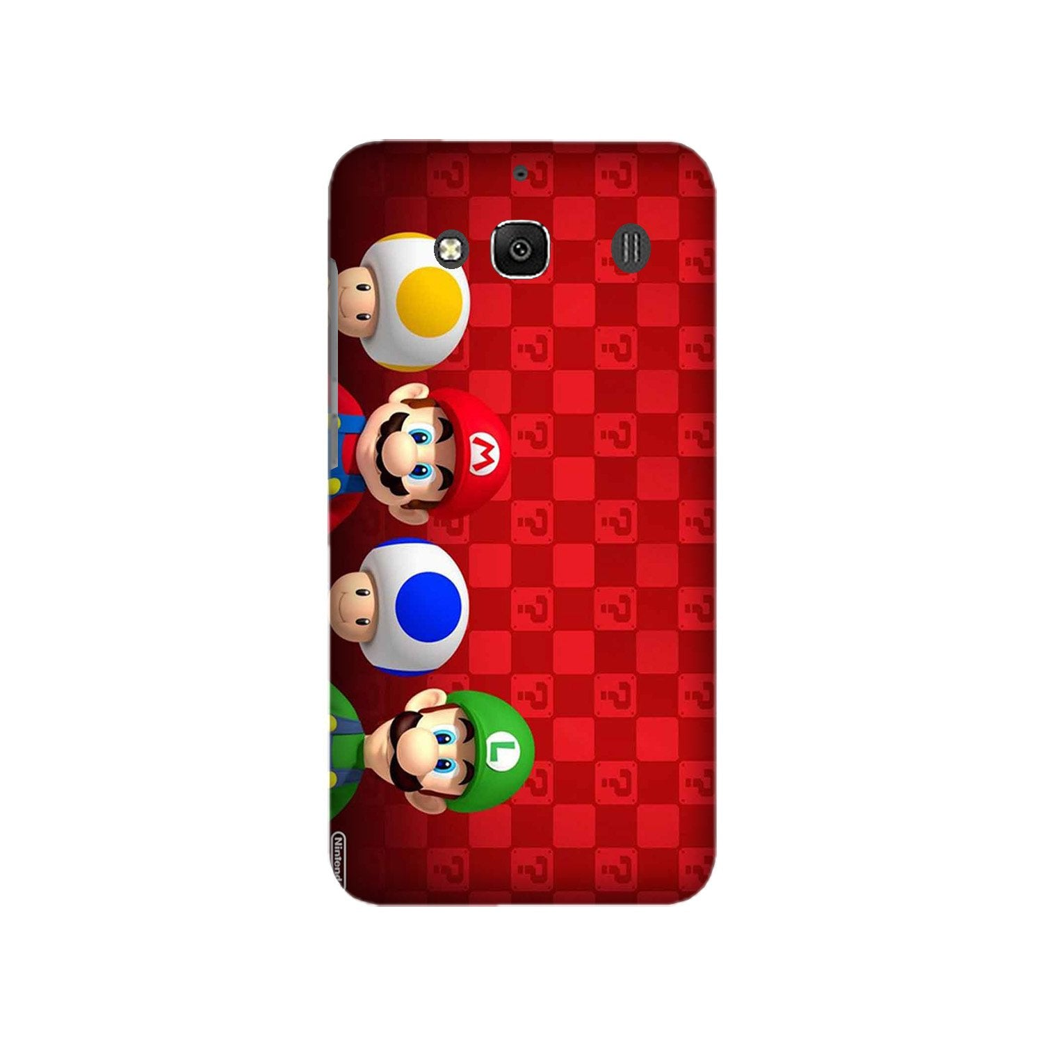 Mario Mobile Back Case for Redmi 2 Prime  (Design - 337)